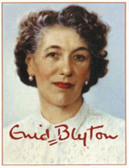 an image of enid-blyton with her signature on it