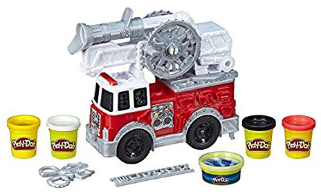 Play-Doh Wheels Firetruck Toy for the top 10 toys for christmas article