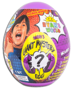 RYANS WORLD Giant Mystery Egg toy for the top 10 toys for christmas article