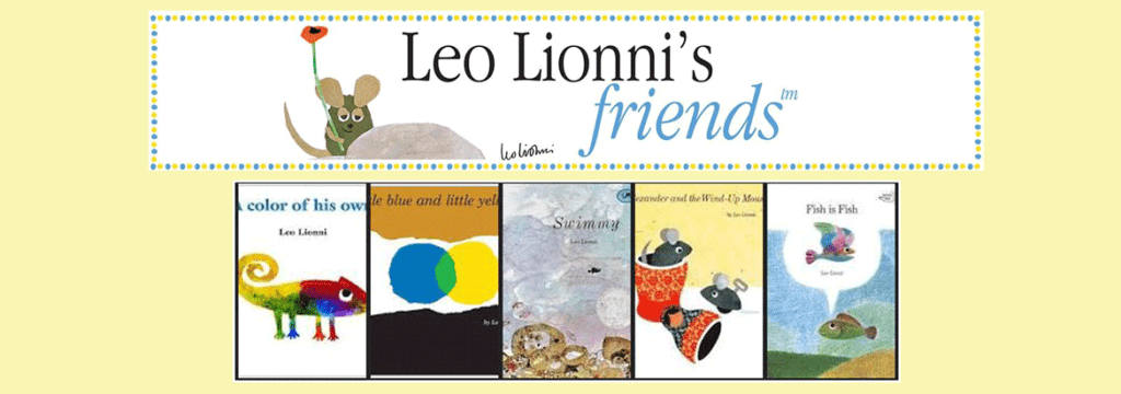 an image of the books of Leo-Lionni for the Banner for article